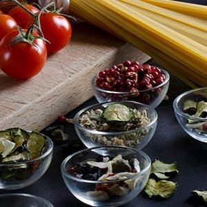 Spezie, ortaggi e frutta secca